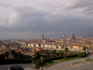 Florence from piazza belvedere