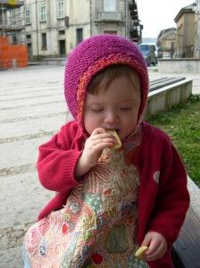 Bobbie eats cookies